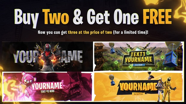 Buy Two & Get One FREE