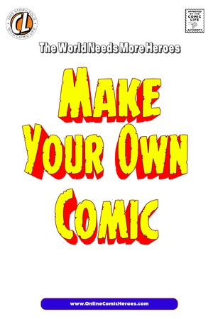 Make Your Own Comic Book Template