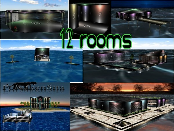 12 Rooms W/Resell Rights!
