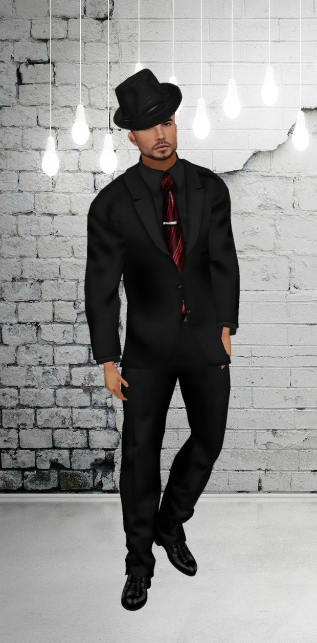 Suit Black, Catty Only!