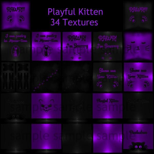 Playful Kitten Catty Only!