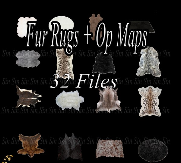 Fur Rugs Catty Only