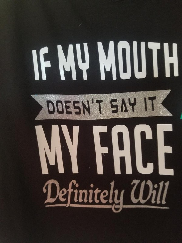 If my mouth doesnt say it...