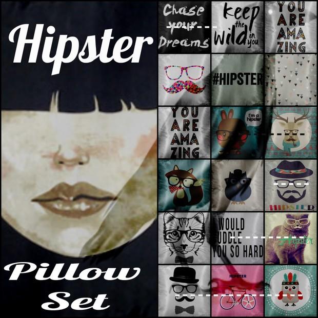 Hipster Pillow Set