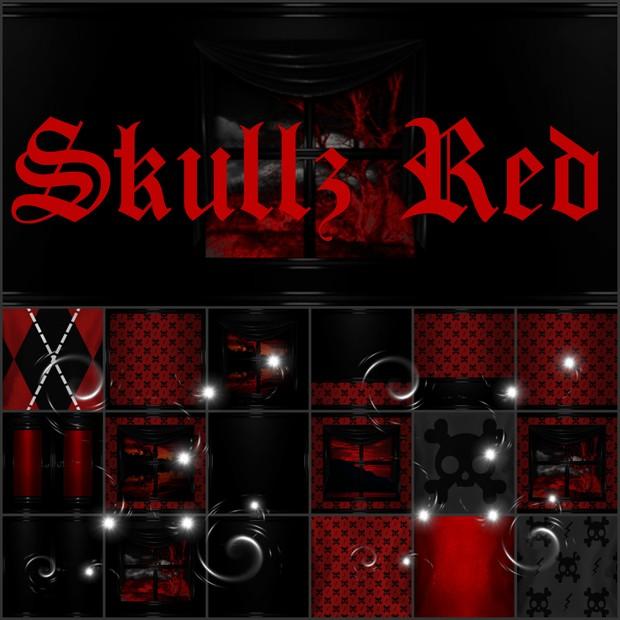 Skullz Red