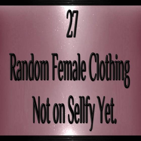27 Random Files Catty Only