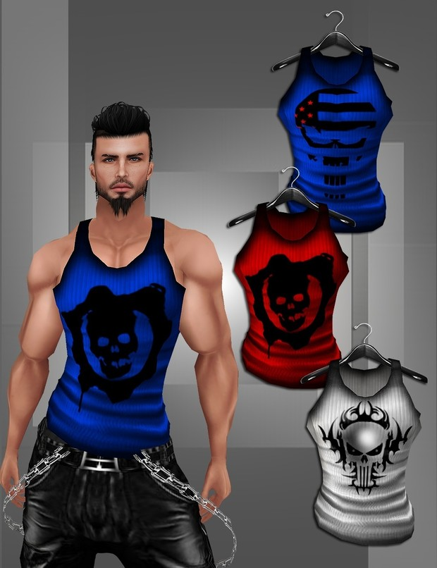 Muscle Skull Tanks