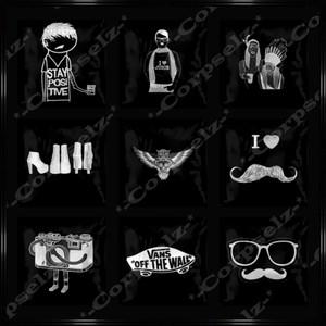 Hipster Black & White