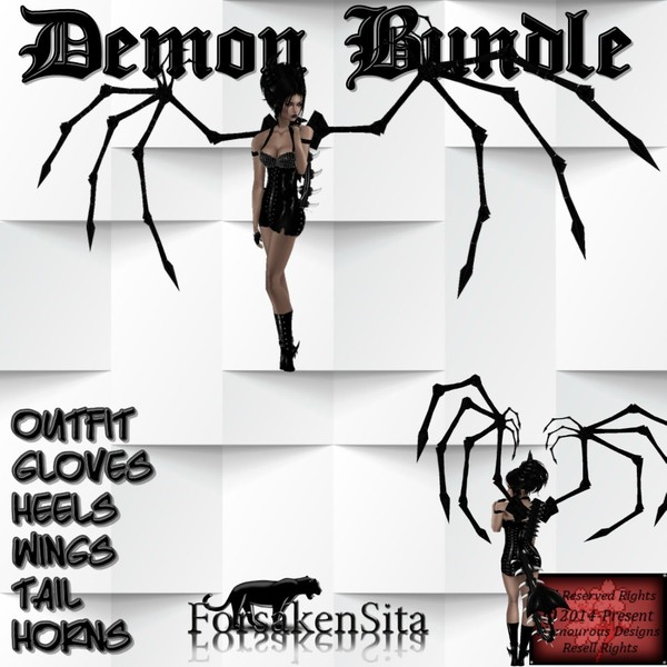 Demon Bundle ( Catty Only)