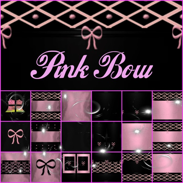 Pink Bow Textures