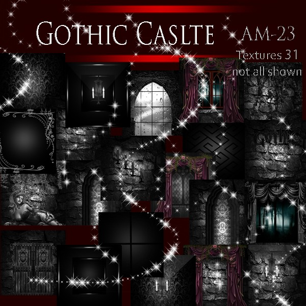 Gothic  Castle Textures ( Catty oNLY!!!)