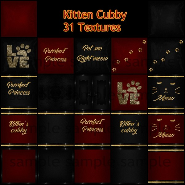 Kitten Cubby Catty Only!
