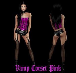 Vamp Corset Pink
