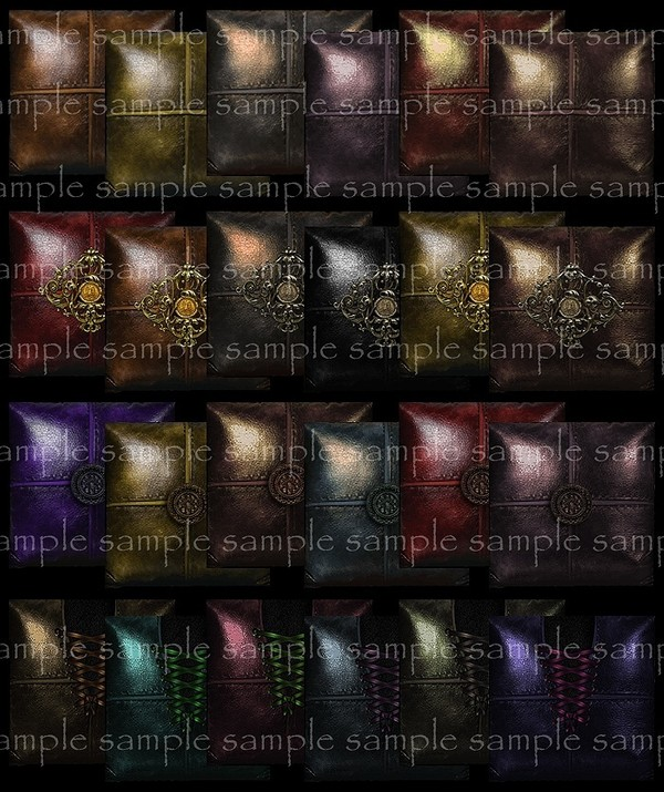 Leather Atraction Pillows Textures