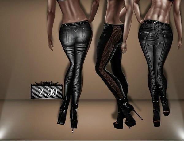 Leather Pants GA