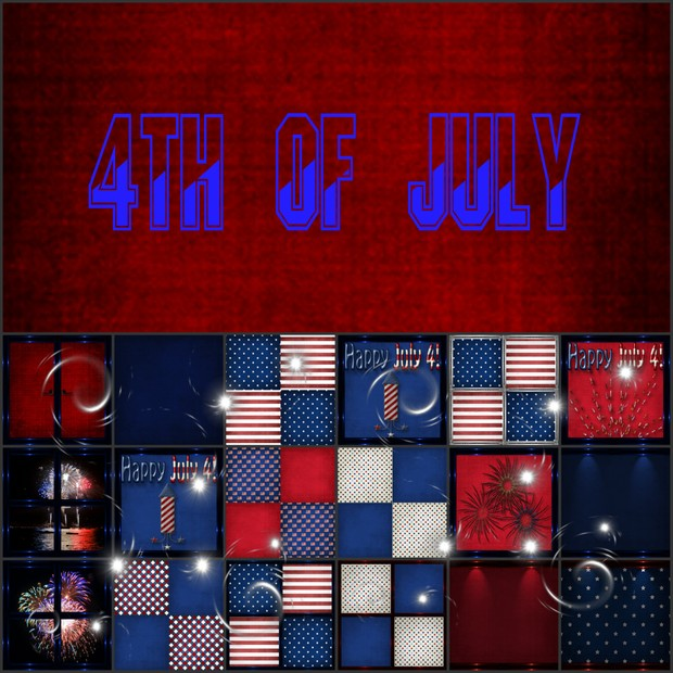 4th of July Textures