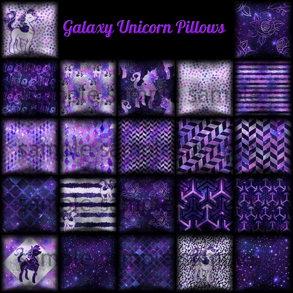 Galaxy Unicon Pillows Catty Only!
