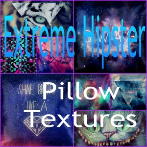 Extreme Hipster Pillows