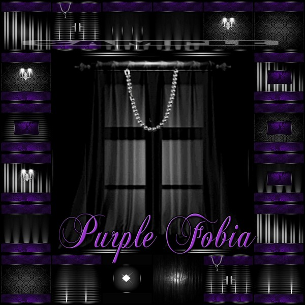 Purple Fobia Catty Only!
