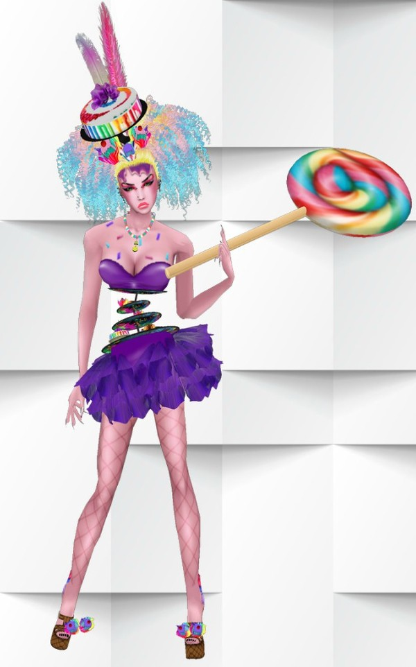 Evil Candy Witch -Catty Only-