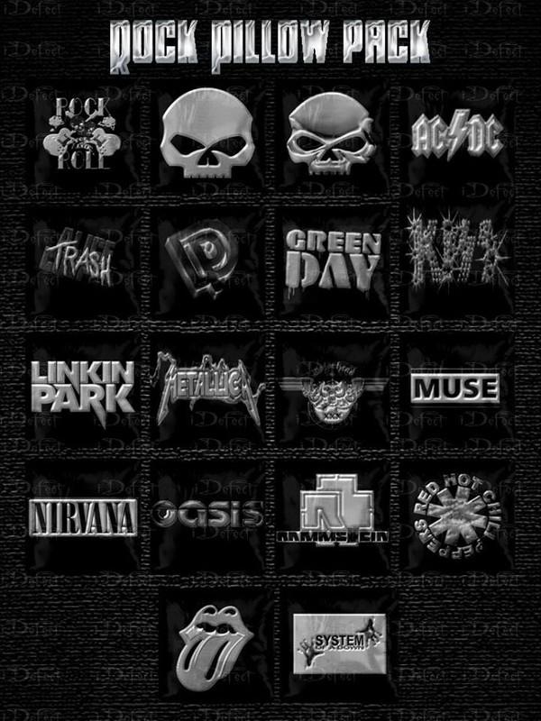 Rock Pillows