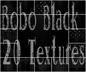 Bobo Black 20 Textures
