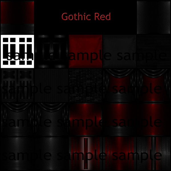 Gothic Red Catty Only!