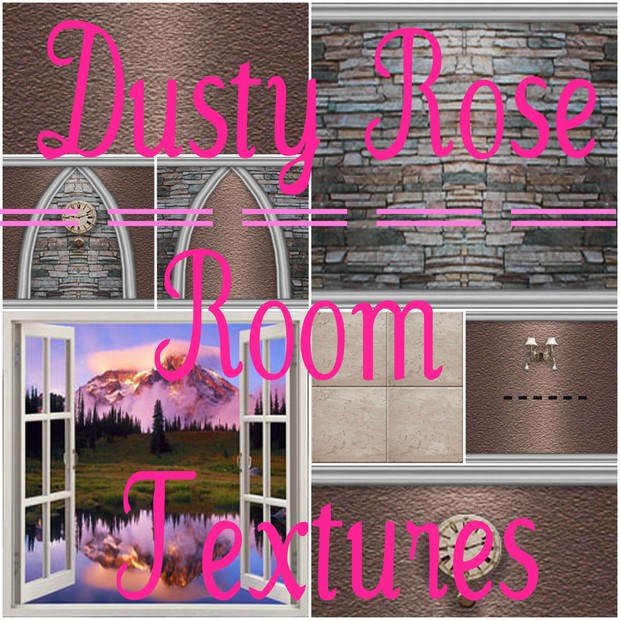 Dusty Rose Room Textures