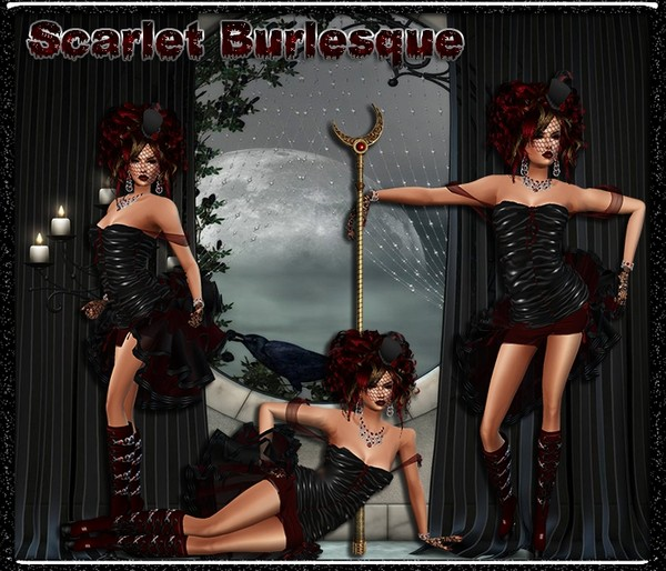 Scarlet Burseque -Resell Rights Only-