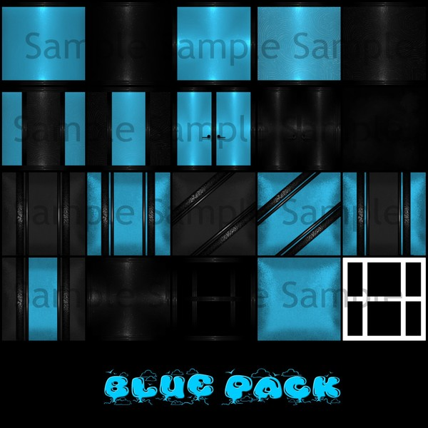 Blue Pack Catty only!