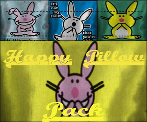 Happy Bunny Pillow Pack