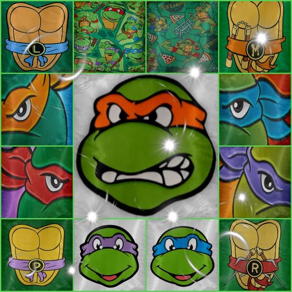 Ninja Turtle Pillows