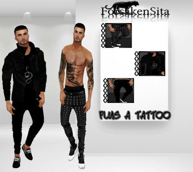 Black Tattoo Bundle Catty only..
