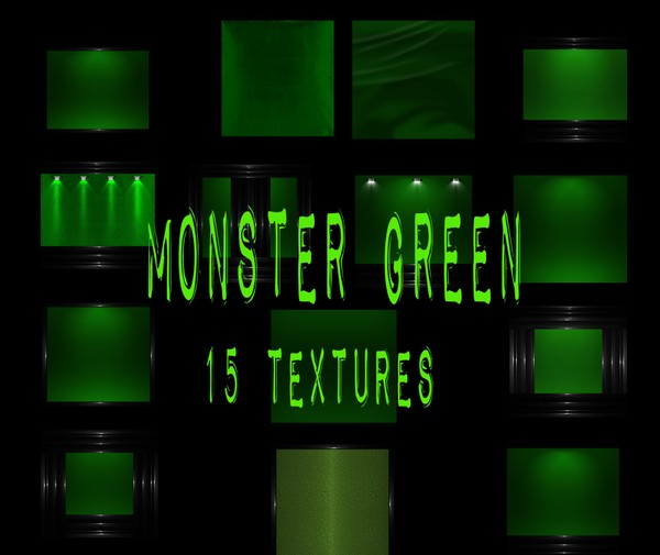 Monster Green Catty Only