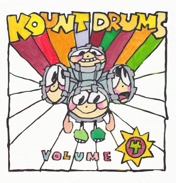 PRE-ORDER - Kount Drums Volume 4