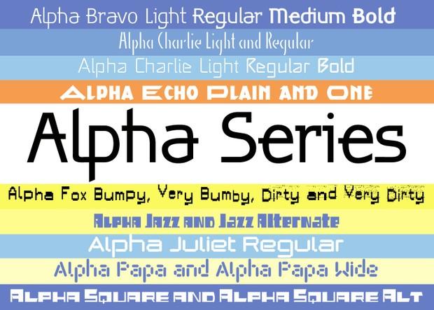 Alpha-Series-Packet