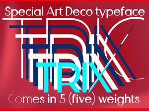 Trix Art Deco Font