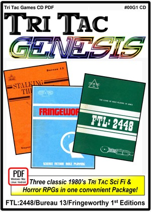 Tri Tac Genesis:  First Edition 3 Pack