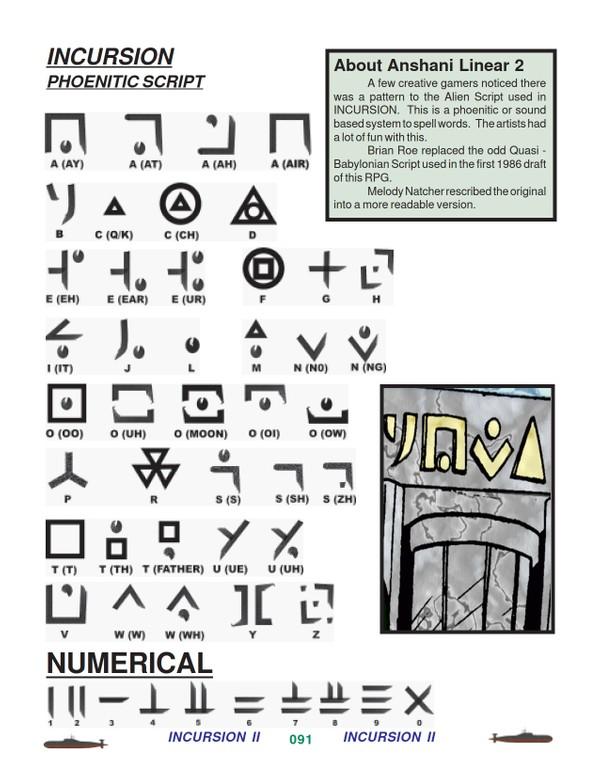 Incusion Font