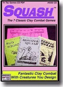 TTG#8000 Squash Clay Combat Game Complete
