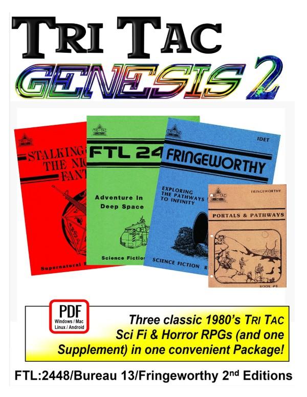 Tri Tac Genesis 2 1980's Editions