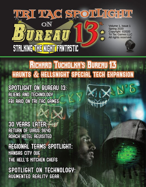 Tri Tac Spotlight #1 -- Bureau 13: Stalking the Night Fantastic®