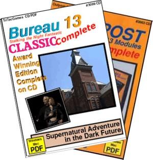 TTG#3199 Bureau 13 Classics & Outpost Complete