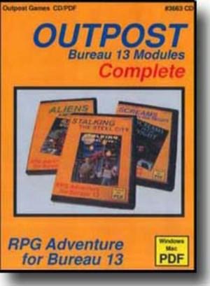 TTG#3663 Outpost Modules by Bruce Sheffer
