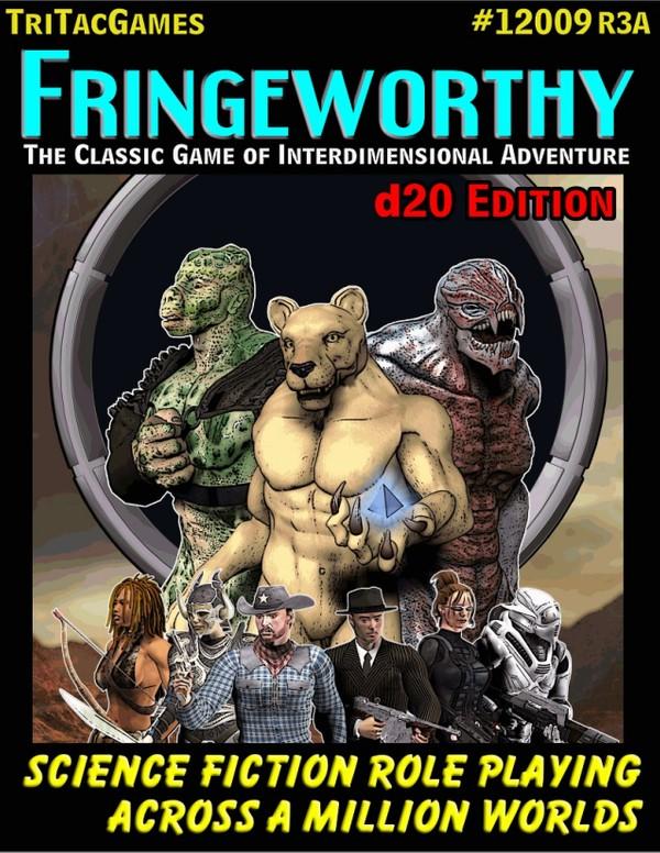 Fringeworthy Corebook d20 Edition