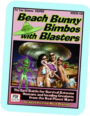 TTG#2050 Beach Bunny Bimbos with Blasters R2 (color)