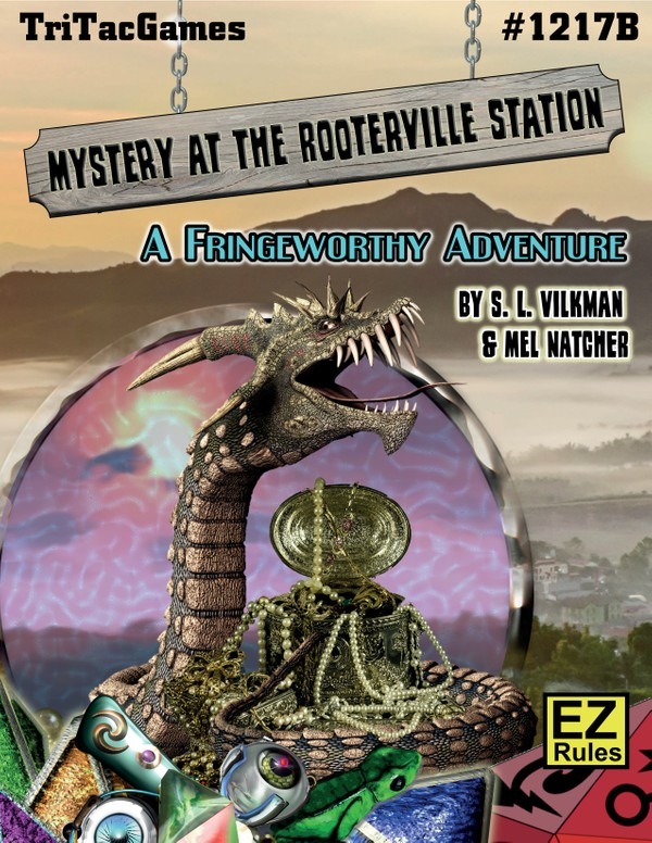 Fringeworthy®  Mystery at Rooterville Station