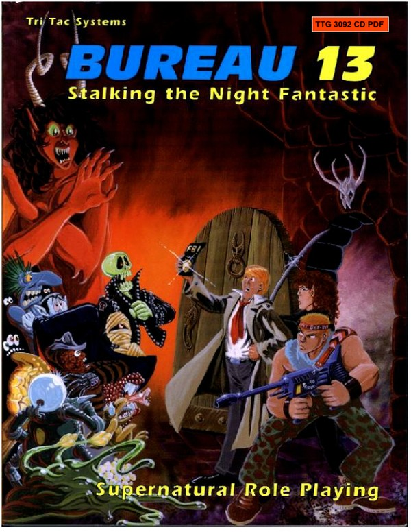Bureau 13: Stalking the Night Fantastic® 1992 Edition Corebook