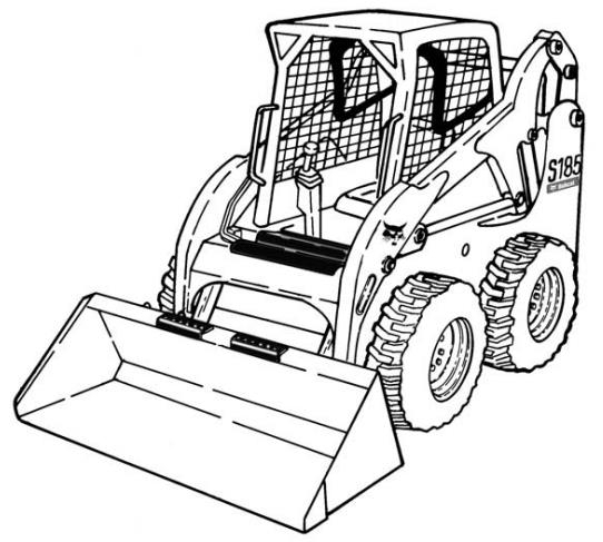 Bobcat S185 Skid Steer Loader Operation Maintenance