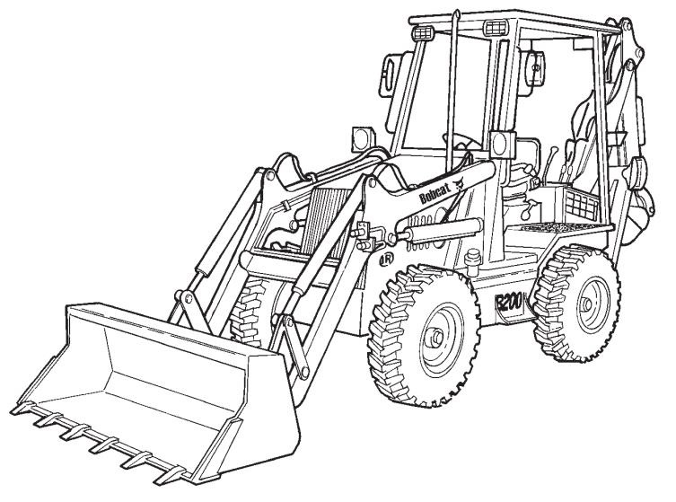 763 Bobcat Schematic Diagram